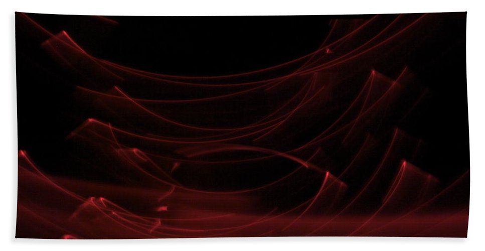 Light Painting Beach Towel featuring the painting Ascension by Xn Tyler