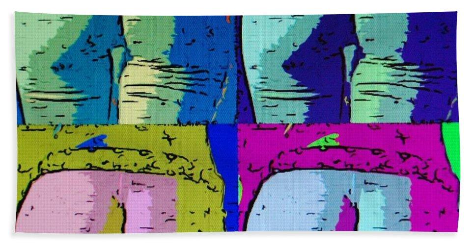 Ass Beach Sheet featuring the photograph Ass Colors by Rob Hans