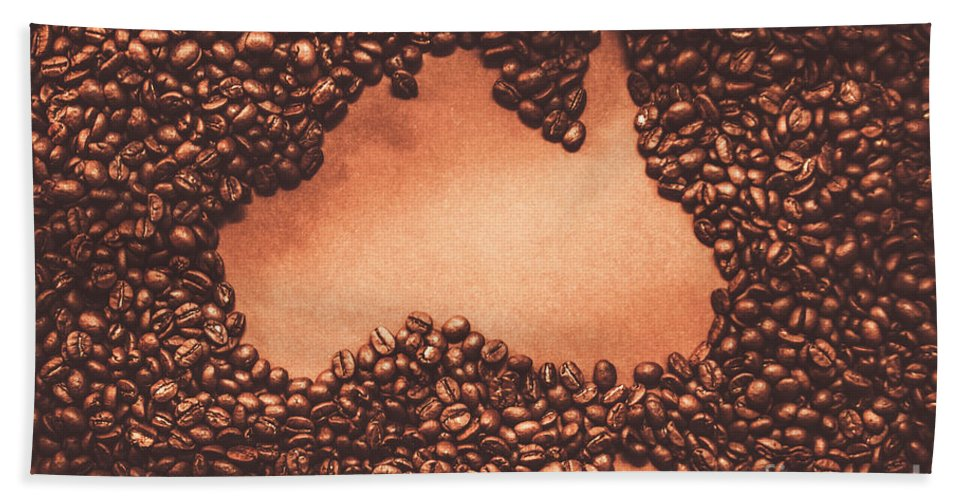 Australian Beach Towel featuring the photograph Australian Made Coffee by Jorgo Photography - Wall Art Gallery