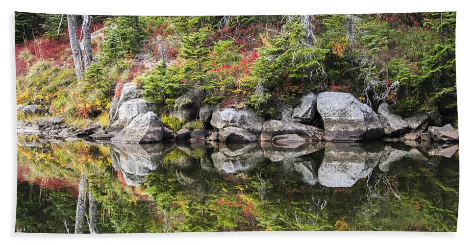Autumn Beach Towel featuring the photograph Autumn In Indian Heaven by Albert Seger