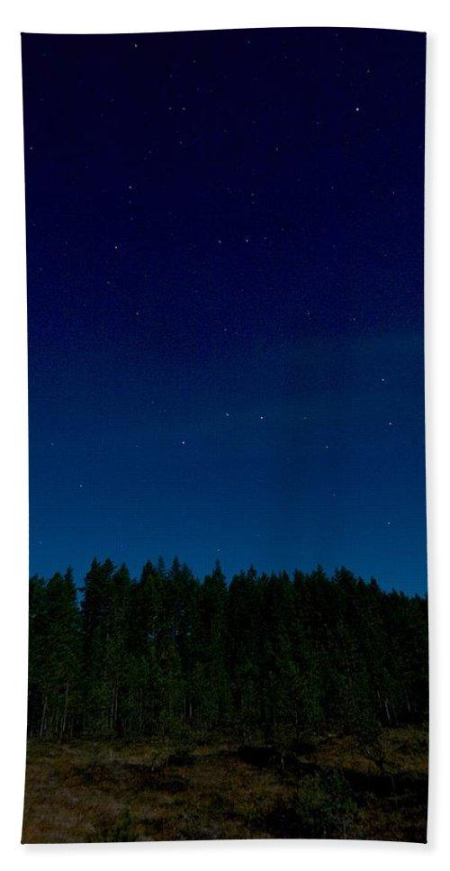 Lehtokukka Beach Towel featuring the photograph Autumn Stars 2 by Jouko Lehto