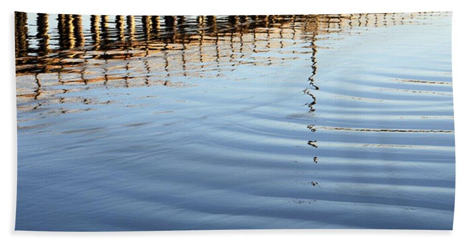 Avila Pier Beach Towel featuring the photograph Avila Beach Pier California 1 by Bob Christopher