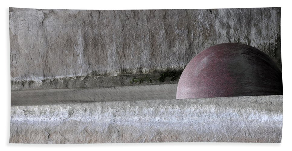 Abstract Beach Towel featuring the photograph Bad Moon Rising by David Arment