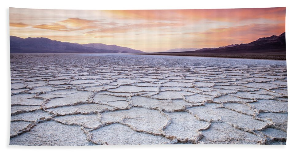 Badwater Beach Towel featuring the photograph Badwater by Olivier Steiner