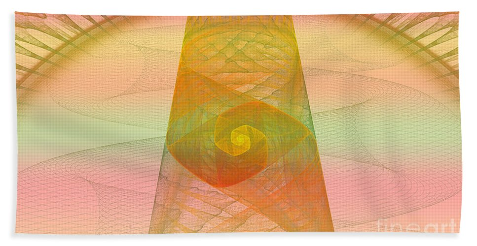 Digital Beach Towel featuring the photograph Balance Of Energy by Deborah Benoit