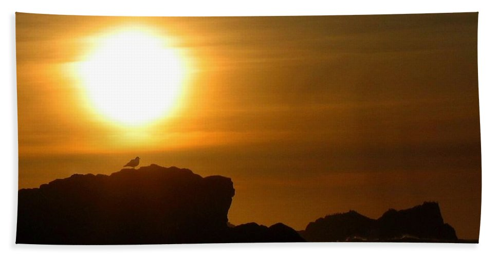 Bandon Beach Towel featuring the photograph Bandon 30 by Will Borden
