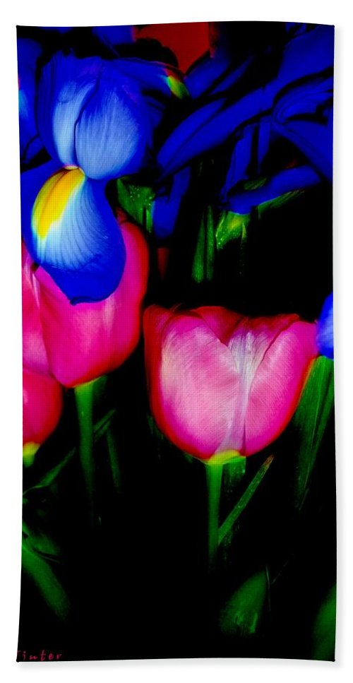 Tulips Beach Towel featuring the photograph Bare Essentials by RC DeWinter