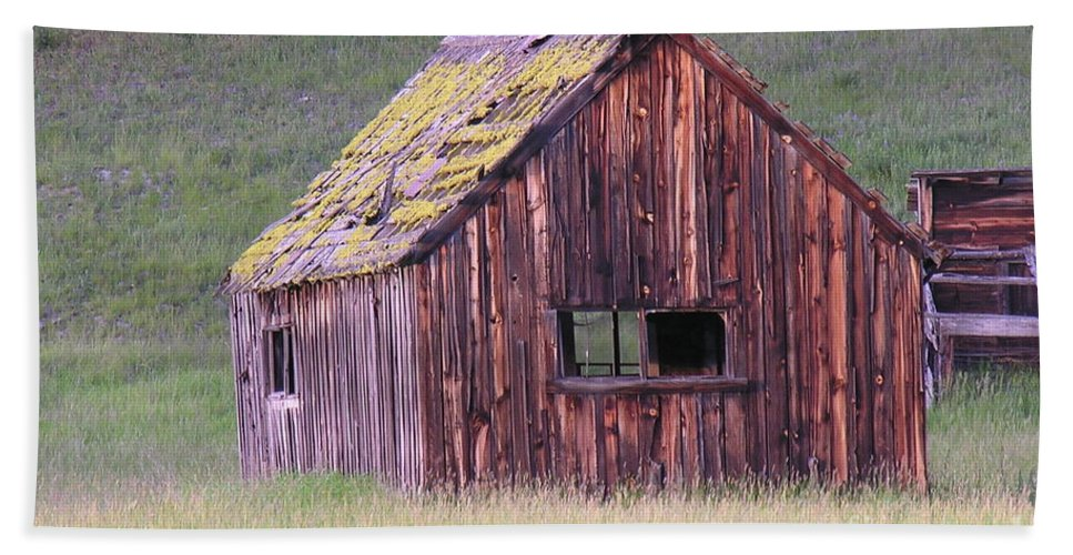 Barn Beach Towel featuring the photograph Barm by Diane Greco-Lesser