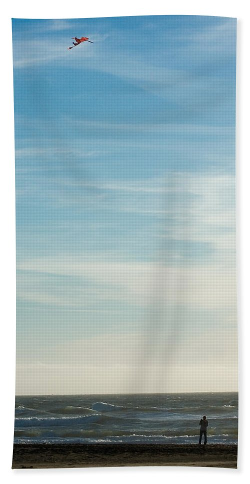 Nature Beach Towel featuring the photograph Beach Day by John K Sampson