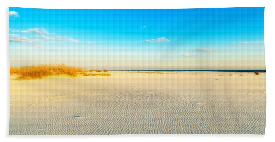Florida Beach Towel featuring the photograph Beautiful Beach by Raul Rodriguez