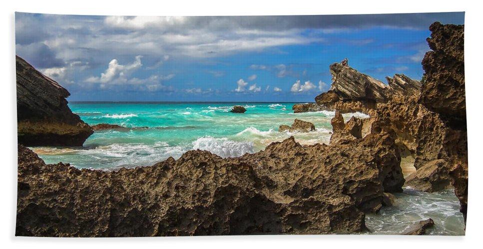 Atlantic Beach Towel featuring the photograph Beautiful Bermuda by Lori Coleman