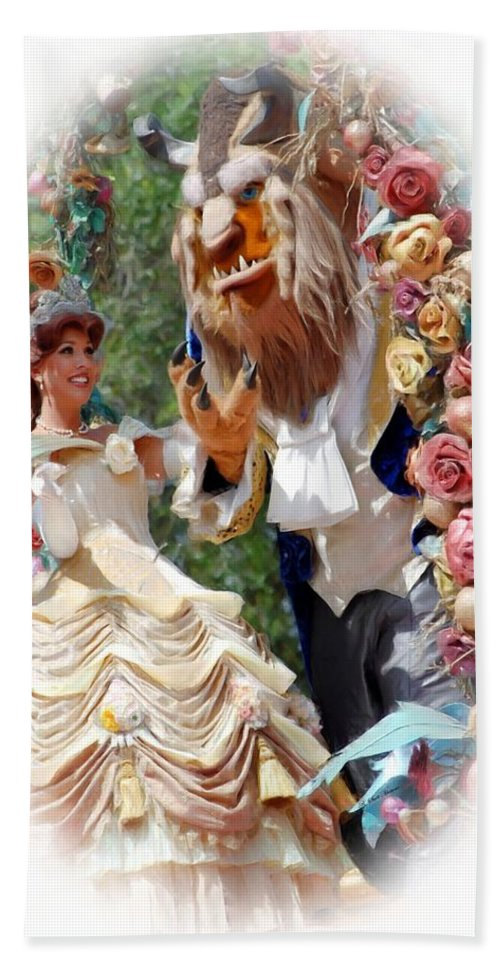 Beauty & The Beast Beach Towel featuring the photograph Beauty And The Beast II by Robert Meanor