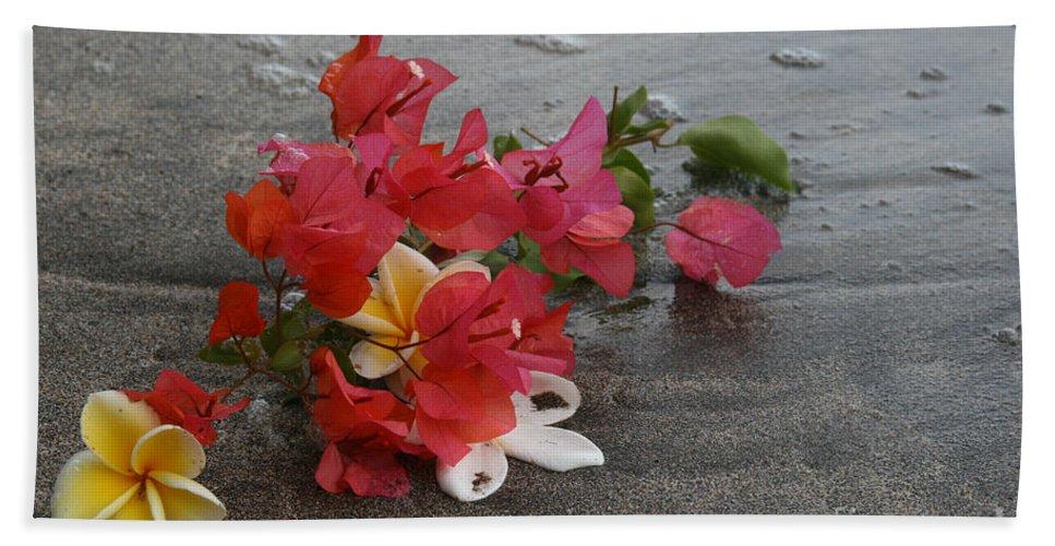 Aloha Beach Towel featuring the photograph Beauty Is Eternally Free by Sharon Mau