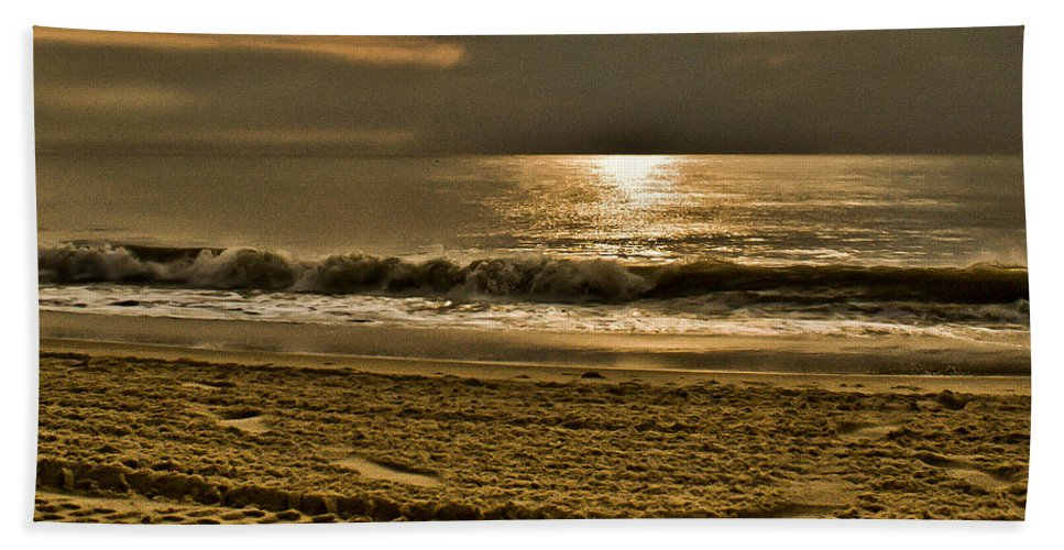 Sand Beach Towel featuring the photograph Beauty Of A Day by Trish Tritz