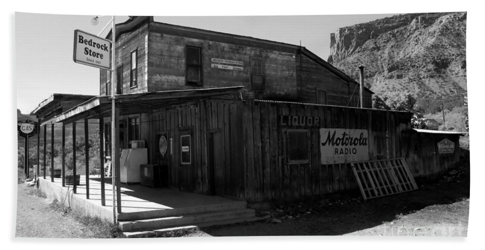 Bedrock Colorado Beach Towel featuring the photograph Bedrock Store 1881 by David Lee Thompson