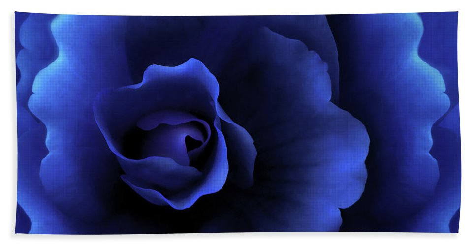 Begonia Beach Towel featuring the photograph Begonia Floral Dark Secrets by Jennie Marie Schell