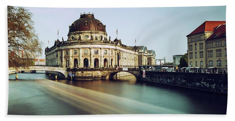 Berlin Beach Towel featuring the photograph Berlin Bode Museum by Alexander Voss