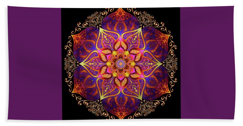 Beach Towel featuring the tapestry - textile Best by Carissa Reedy