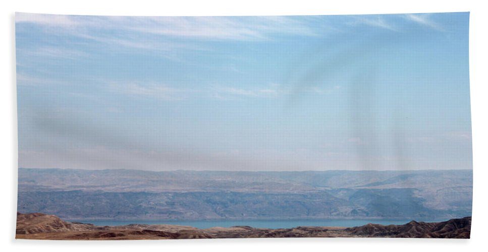Bethlehem Beach Towel featuring the photograph Bethlehem Desert by Munir Alawi