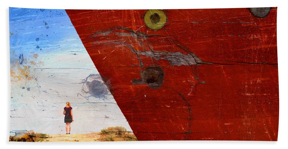 Paint Beach Towel featuring the photograph Beyond The Sky by Tara Turner