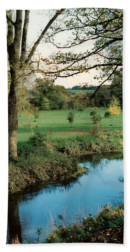 Blarney Castle Beach Towel featuring the photograph Blarney Castle Grounds by Lauri Novak
