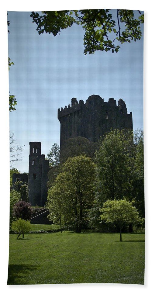 Irish Beach Sheet featuring the photograph Blarney Castle Ireland by Teresa Mucha