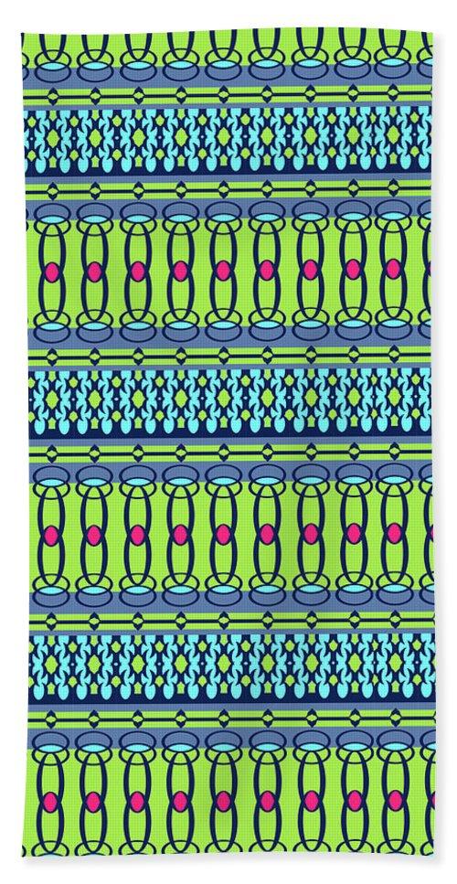 Pattern Beach Towel featuring the digital art Bling2 by Ceil Diskin