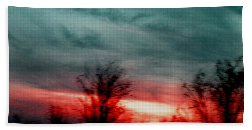 Landscape Beach Towel featuring the photograph The Memory Remains by M Pace
