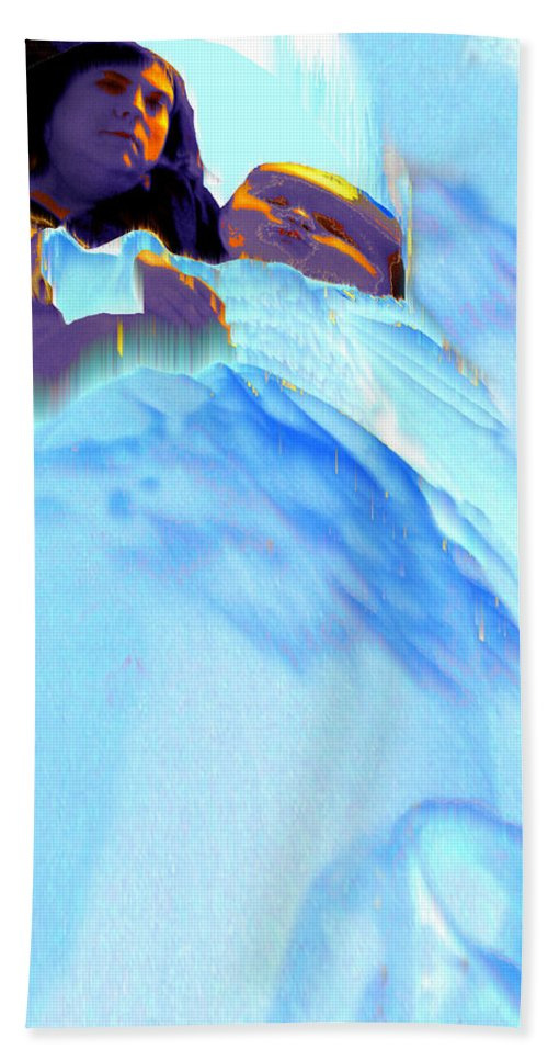 Baby Beach Towel featuring the photograph Blue Blanket by Seth Weaver