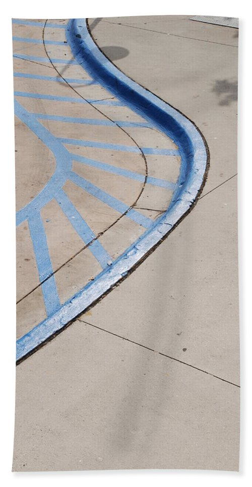 Blue Beach Towel featuring the photograph Blue Zone by Rob Hans