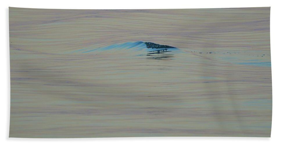 Abstract Beach Towel featuring the photograph Breaking Swell by Lyle Crump