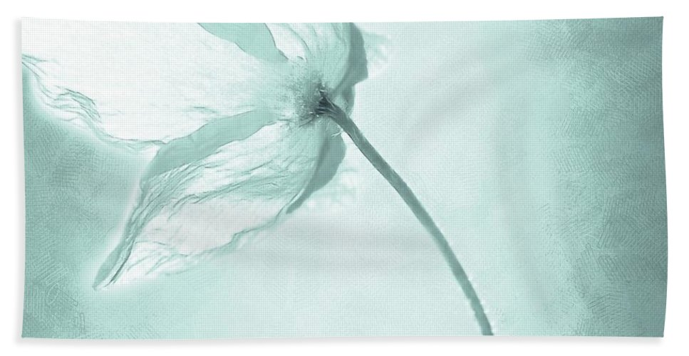 Flower Beach Towel featuring the painting Breeze by Jacky Gerritsen