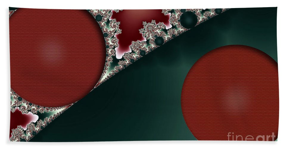 Clay Beach Towel featuring the digital art Brick Foundation by Clayton Bruster