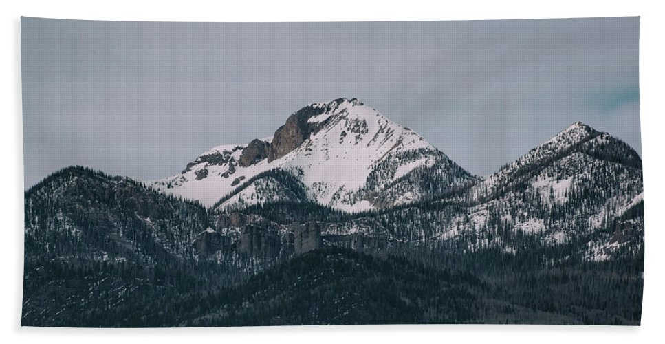 Landscape Beach Towel featuring the photograph Brief Luminance by Jason Coward