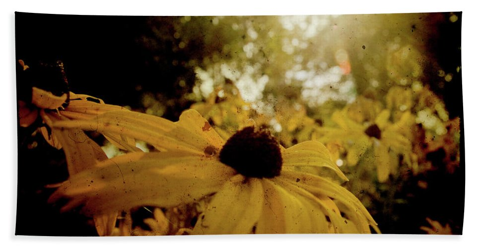 Yellow Beach Towel featuring the photograph Brighten Up by Joel Witmeyer
