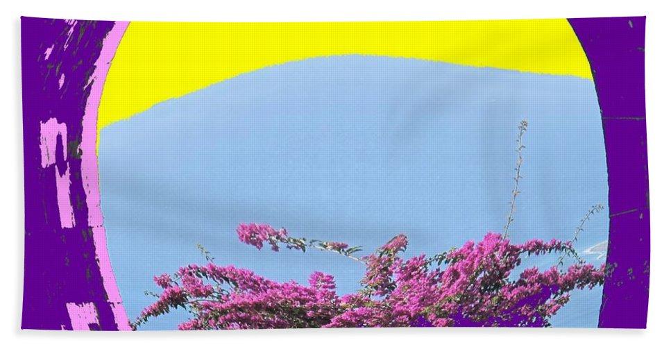 Brimstone Beach Sheet featuring the photograph Brimstone Gate by Ian MacDonald