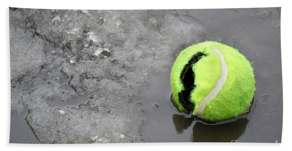 Alone Beach Towel featuring the photograph Broken And Alone by Traci Cottingham