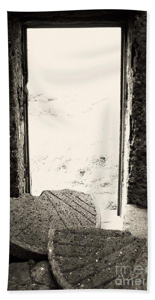 Azores Beach Towel featuring the photograph Broken Millstone by Gaspar Avila