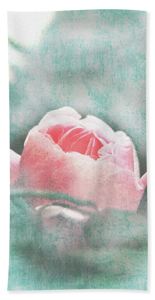 Flower Beach Towel featuring the photograph Bud by Lali Kacharava