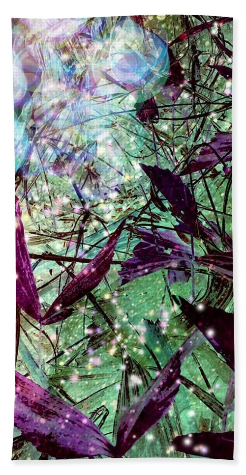 Nature Beach Towel featuring the photograph Butterflies At Night by Christina Durham