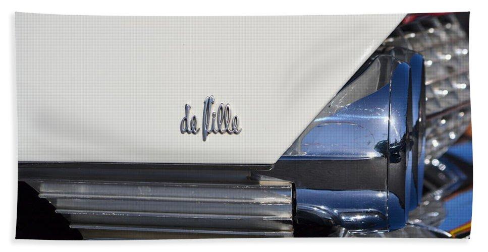 Beach Towel featuring the photograph Cadillac De Ville by Dean Ferreira