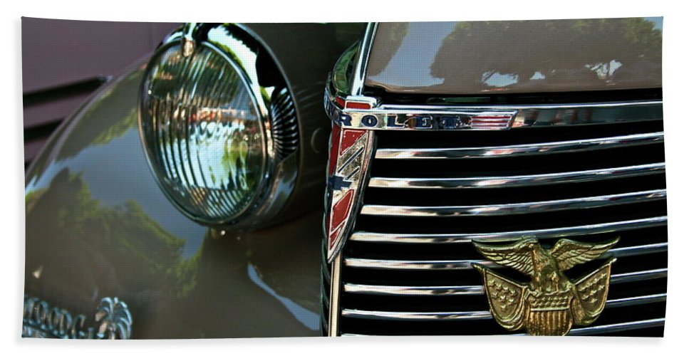 Chevy Beach Towel featuring the photograph California Chevy Classic by Gwyn Newcombe
