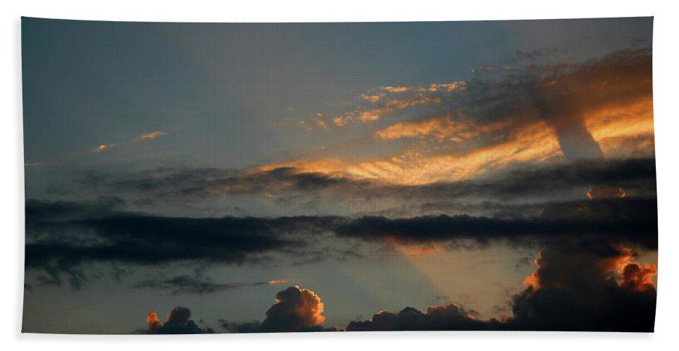 Sunset Beach Towel featuring the photograph California Gold by Chris Brannen