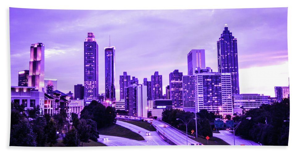 Atlanta Beach Towel featuring the photograph Calm After The Storm by Kennard Reeves