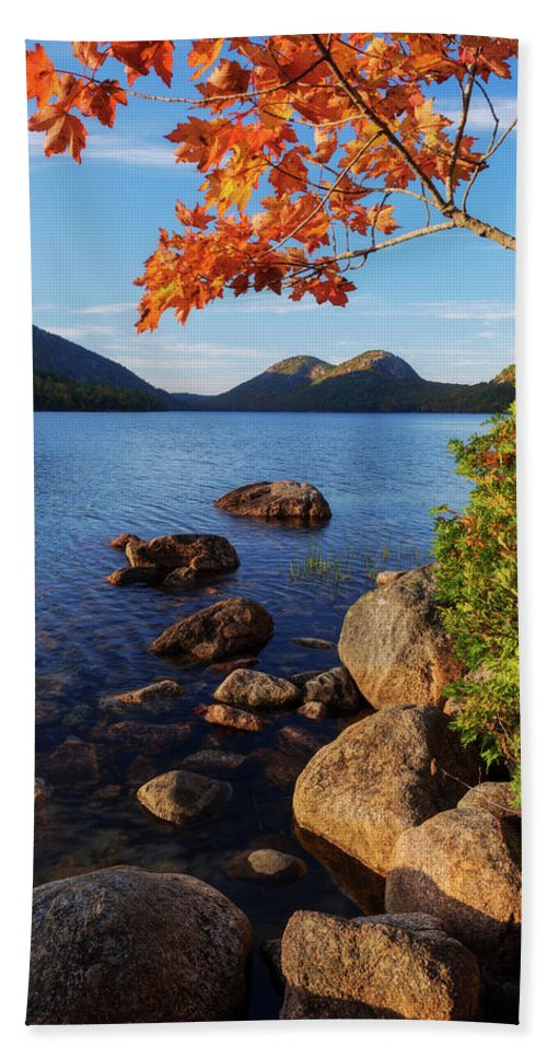 Calm Beach Towel featuring the photograph Calm Before The Storm by Chad Dutson