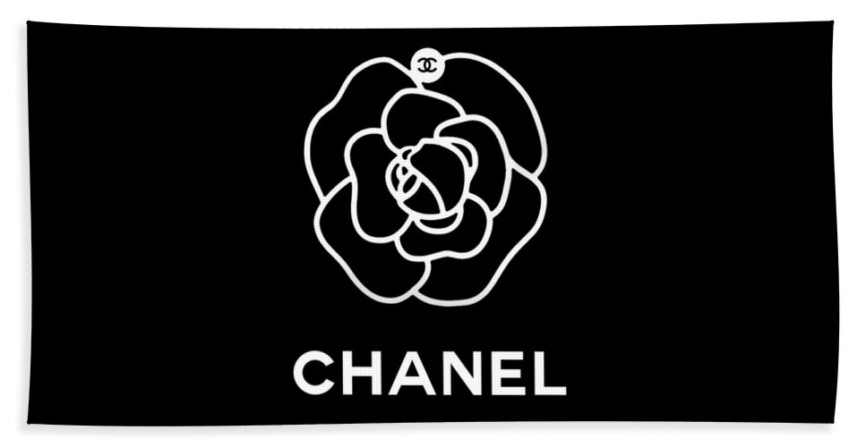 4b345f9d2105 Camellia Chanel Beach Towel for Sale by Tres Chic