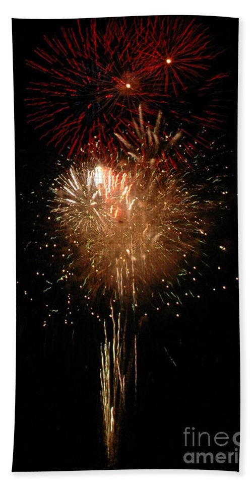 California Scenes Beach Towel featuring the photograph Candle Burst by Norman Andrus