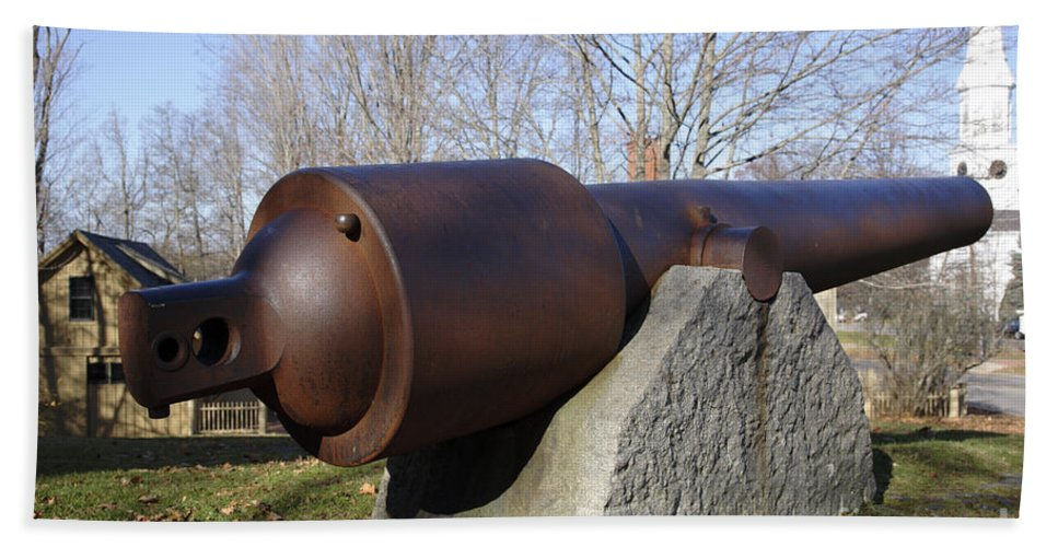 American Beach Towel featuring the photograph Cannon - York Maine Usa by Erin Paul Donovan