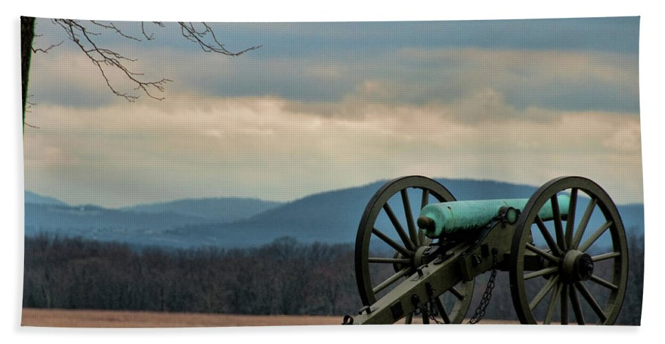 Cannon Beach Towel featuring the photograph Cannon by David Arment