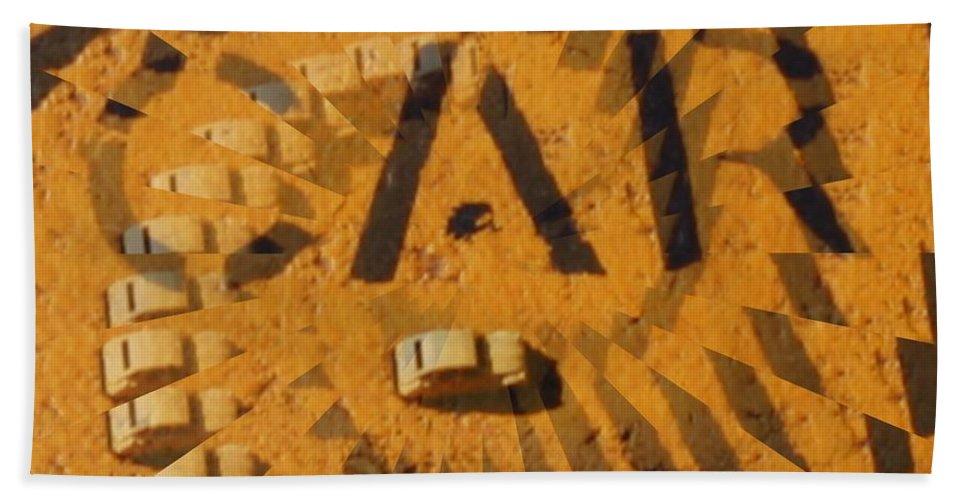 Car Beach Towel featuring the digital art Car by Tim Allen